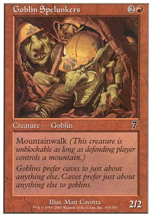 Goblin Spelunkers, 7th Edition