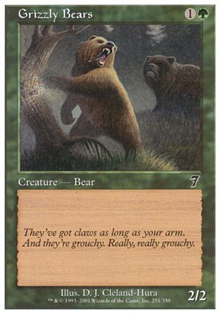 Grizzly Bears, 7th Edition