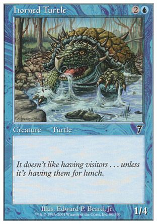 Horned Turtle, 7th Edition