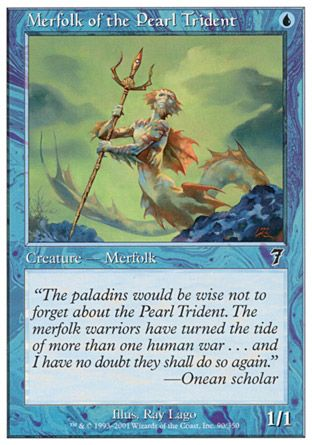 Merfolk of the Pearl Trident, 7th Edition
