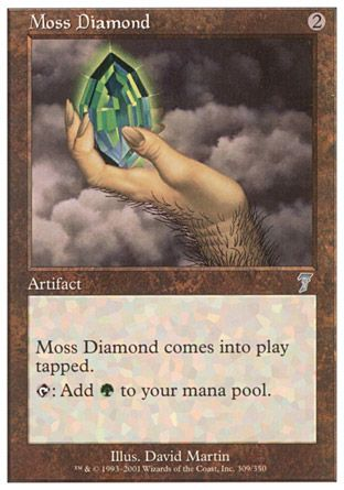 Moss Diamond, 7th Edition