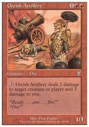 Orcish Artillery, 7th Edition