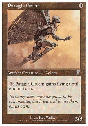 Patagia Golem, 7th Edition