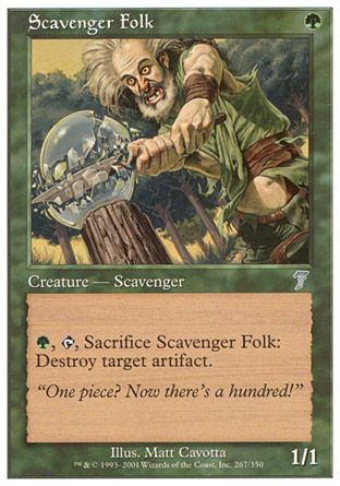 Scavenger Folk, 7th Edition