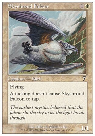 Skyshroud Falcon, 7th Edition