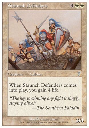 Staunch Defenders, 7th Edition