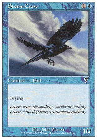 Storm Crow, 7th Edition