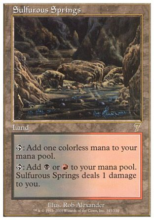 Sulfurous Springs, 7th Edition