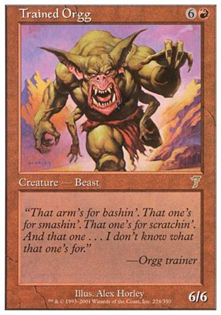Trained Orgg, 7th Edition