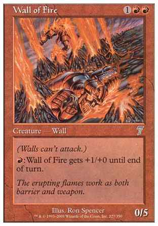 Wall of Fire, 7th Edition
