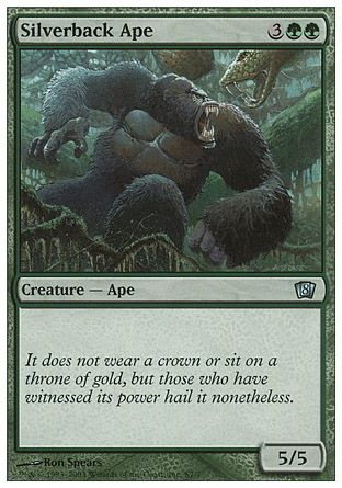 Silverback Ape, 8th Edition Starter