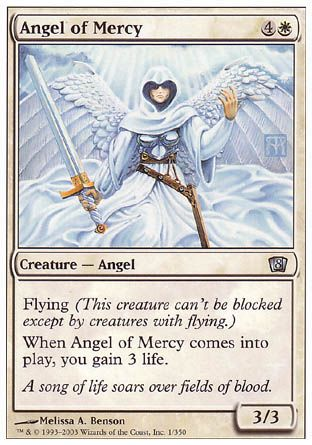 Angel of Mercy, 8th Edition