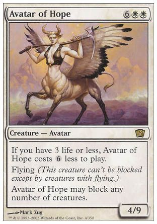 Avatar of Hope, 8th Edition