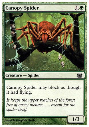 Canopy Spider, 8th Edition
