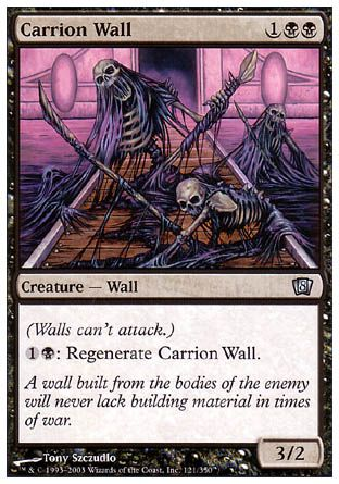 Carrion Wall, 8th Edition