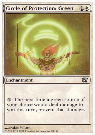 Circle of Protection: Green, 8th Edition