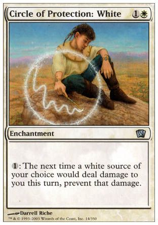 Circle of Protection: White, 8th Edition
