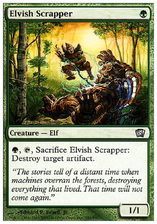 Elvish Scrapper, 8th Edition