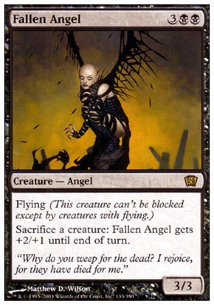 Fallen Angel, 8th Edition