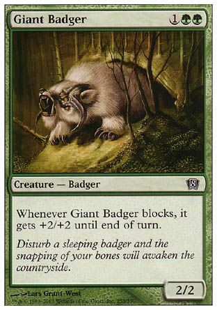 Giant Badger, 8th Edition