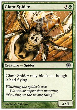 Giant Spider, 8th Edition