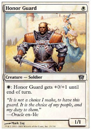 Honor Guard, 8th Edition