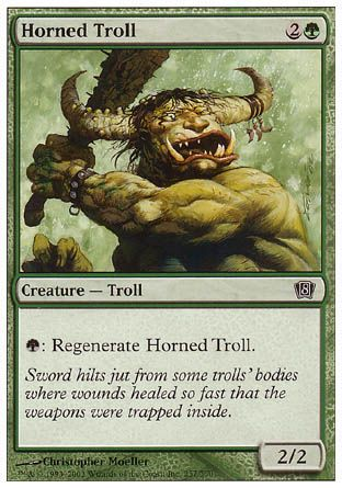 Horned Troll, 8th Edition