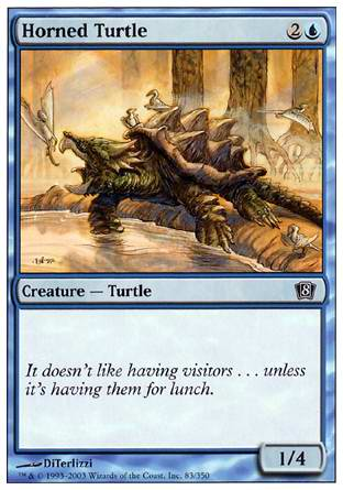 Horned Turtle, 8th Edition