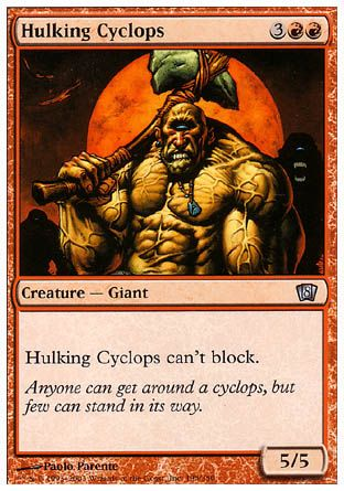 Hulking Cyclops, 8th Edition