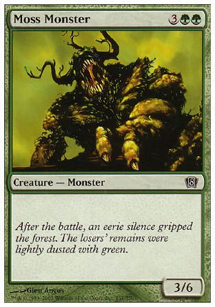Moss Monster, 8th Edition