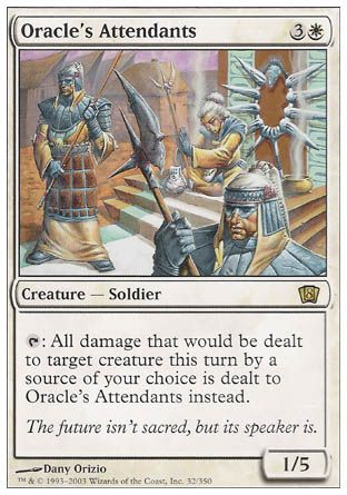Oracle's Attendants, 8th Edition