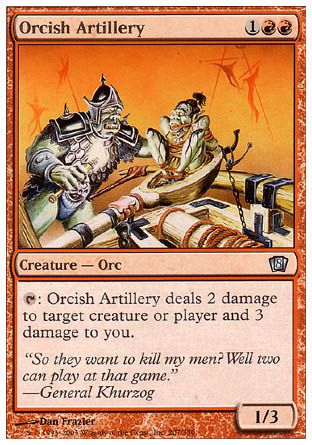 Orcish Artillery, 8th Edition