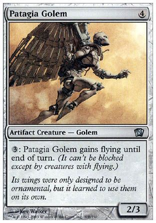Patagia Golem, 8th Edition
