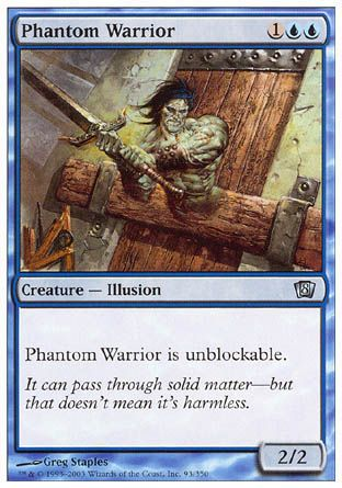 Phantom Warrior, 8th Edition