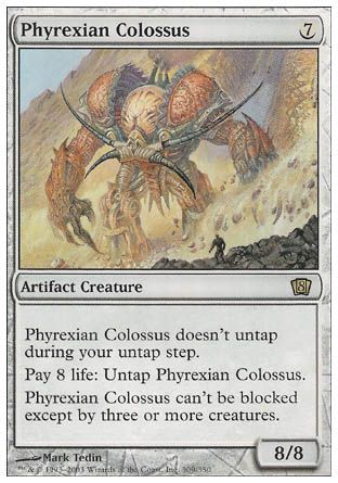 Phyrexian Colossus, 8th Edition