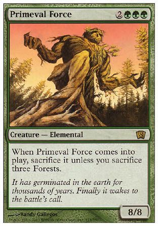 Primeval Force, 8th Edition