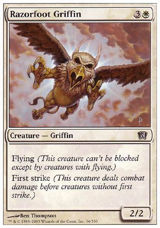 Razorfoot Griffin, 8th Edition
