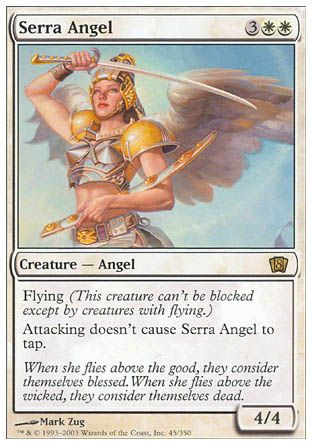 Serra Angel, 8th Edition