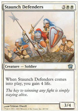 Staunch Defenders, 8th Edition