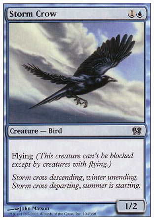 Storm Crow, 8th Edition