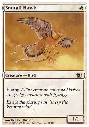 Suntail Hawk, 8th Edition