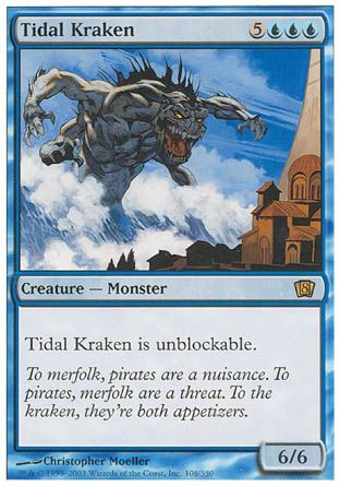 Tidal Kraken, 8th Edition