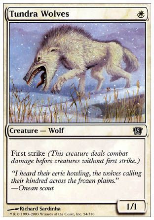 Tundra Wolves, 8th Edition
