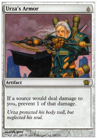 Urza's Armor, 8th Edition