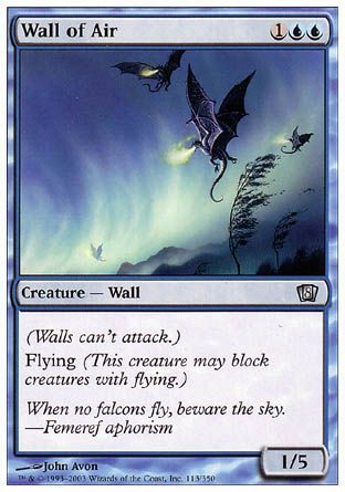 Wall of Air, 8th Edition