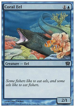 Coral Eel, 9th Edition Starter
