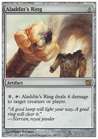 Aladdin's Ring, 9th Edition