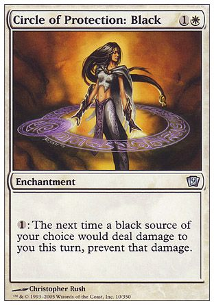 Circle of Protection: Black, 9th Edition