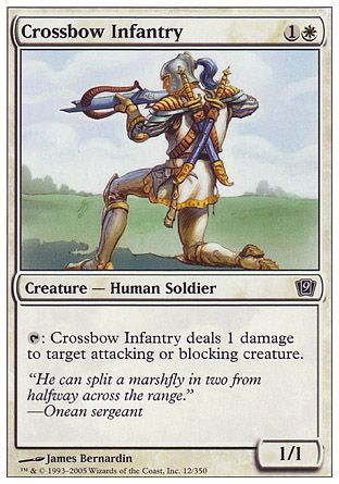 Crossbow Infantry, 9th Edition