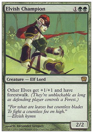 Elvish Champion, 9th Edition